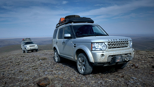 Land Rover Tech Window